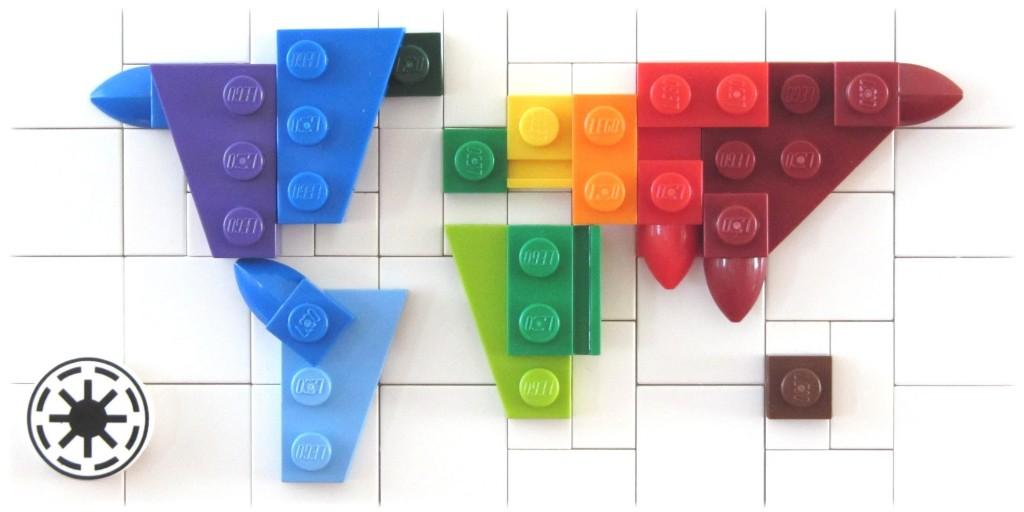 LEGO Map