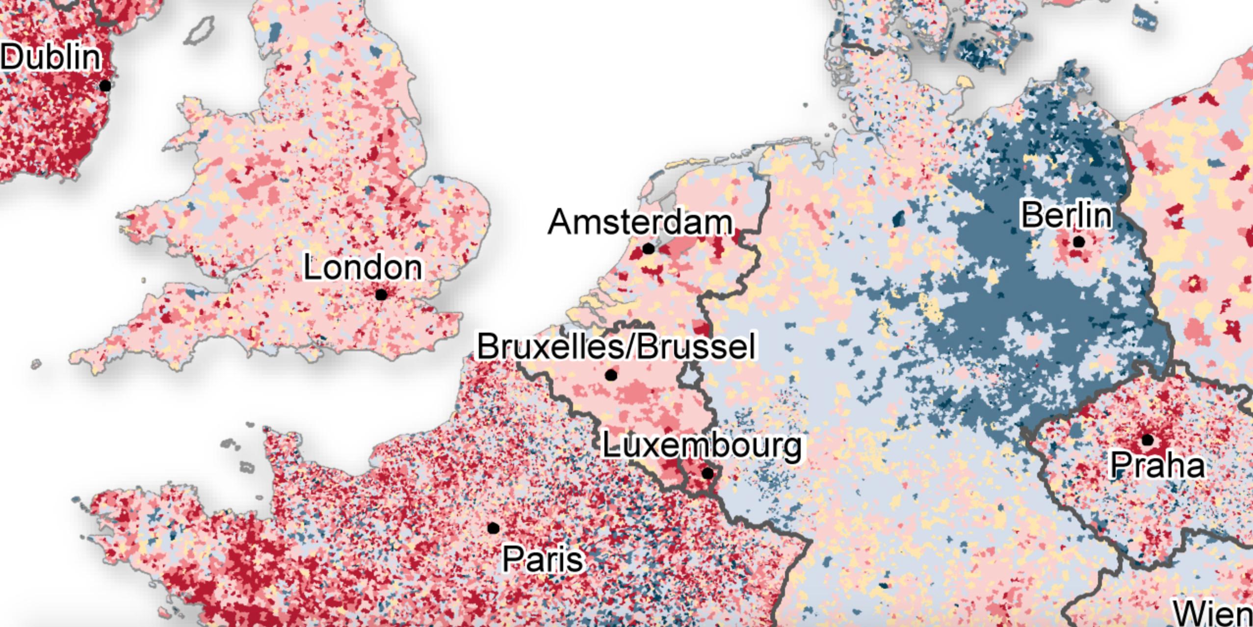 Demographics trends in Europe