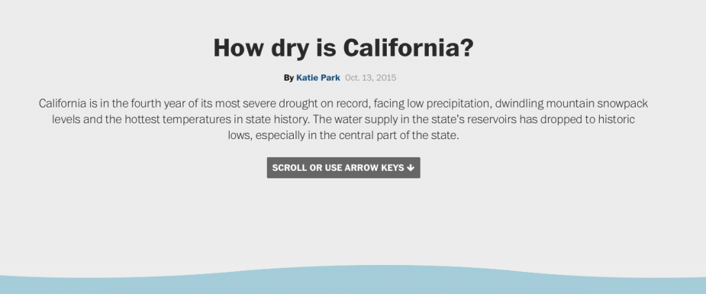 How Dry Is California